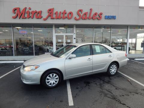 2005 Toyota Camry for sale at Mira Auto Sales in Dayton OH