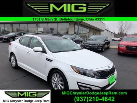 2015 Kia Optima for sale at MIG Chrysler Dodge Jeep Ram in Bellefontaine OH