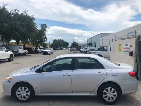 2011 Toyota Corolla for sale at Eden Cars Inc in Hollywood FL