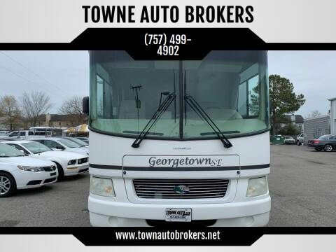 2004 Ford Motorhome Chassis for sale at TOWNE AUTO BROKERS in Virginia Beach VA