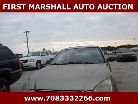 2002 Nissan Altima for sale at First Marshall Auto Auction in Harvey IL