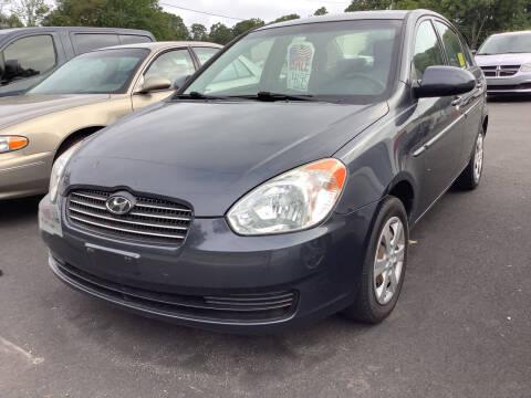 2009 Hyundai Accent for sale at Motuzas Automotive Inc. in Upton MA