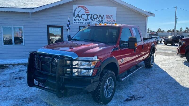 2012 Ford F-350 Super Duty for sale at Action Motor Sales in Gaylord MI