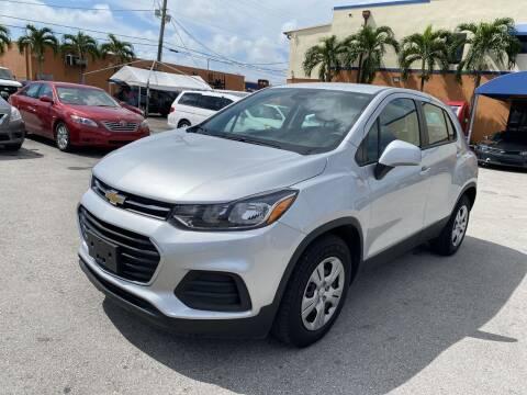 2018 Chevrolet Trax for sale at MANA AUTO SALES in Miami FL