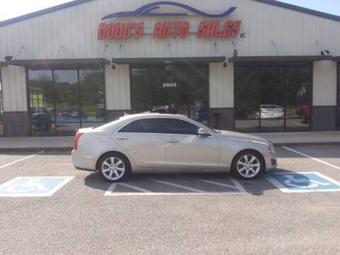 2014 Cadillac ATS for sale at DOUG'S AUTO SALES INC in Pleasant View TN