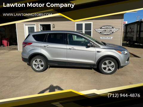 2015 Ford Escape for sale at Lawton Motor Company in Lawton IA