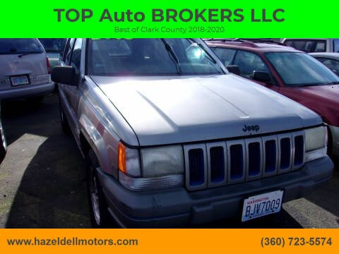 1997 Jeep Grand Cherokee for sale at TOP Auto BROKERS LLC in Vancouver WA