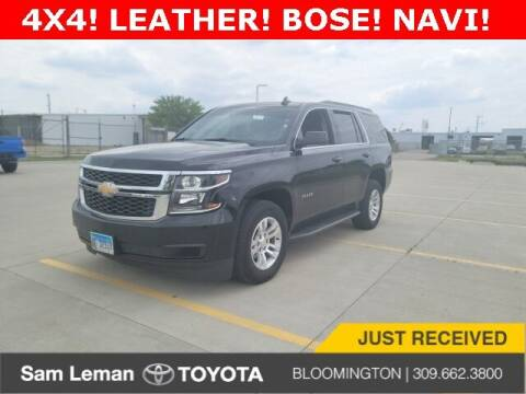 2018 Chevrolet Tahoe for sale at Sam Leman Toyota Bloomington in Bloomington IL