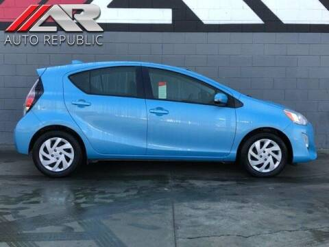 2015 Toyota Prius c for sale at Auto Republic Fullerton in Fullerton CA