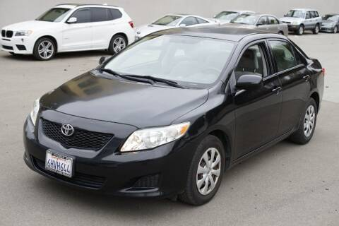 2009 Toyota Corolla for sale at Sports Plus Motor Group LLC in Sunnyvale CA