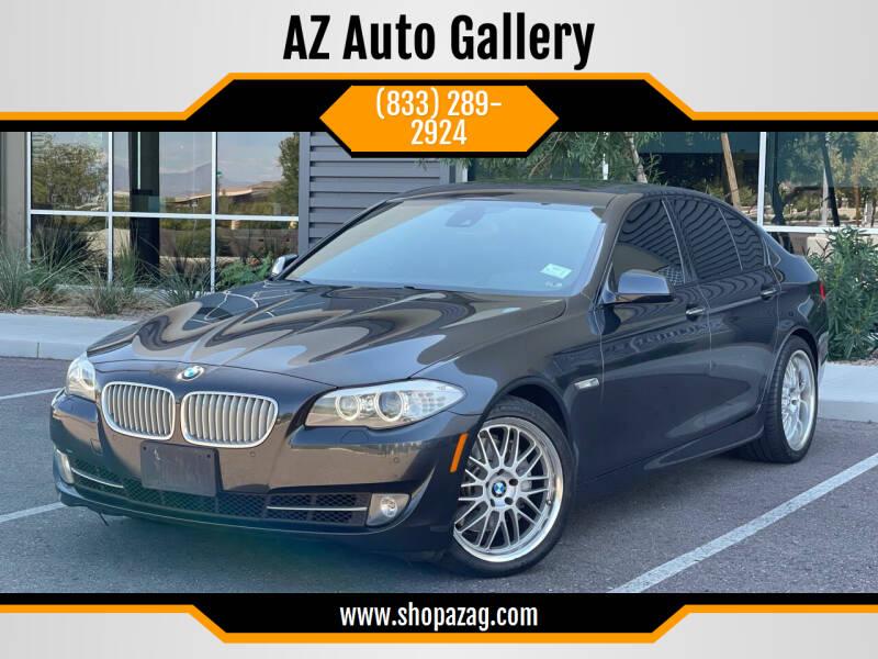 2011 BMW 5 Series for sale at AZ Auto Gallery in Mesa AZ