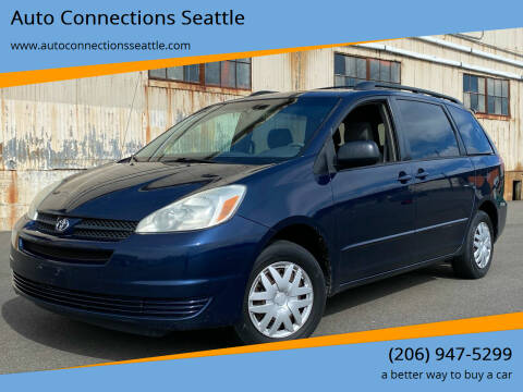 2005 Toyota Sienna for sale at Auto Connections Seattle in Seattle WA