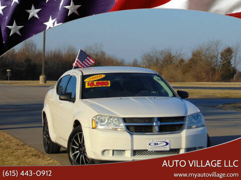 2008 Dodge Avenger for sale at AUTO VILLAGE LLC in Lebanon TN