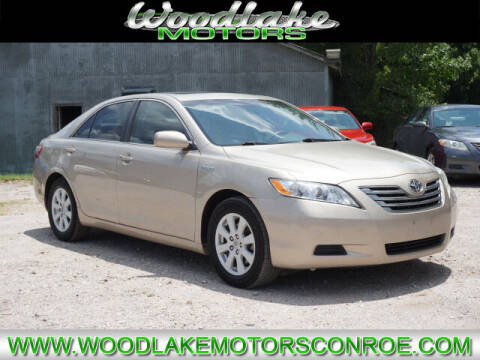 2007 Toyota Camry Hybrid for sale at WOODLAKE MOTORS in Conroe TX
