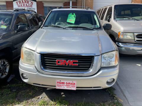 2005 GMC Envoy for sale at Frank's Garage in Linden NJ