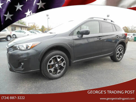 2018 Subaru Crosstrek for sale at GEORGE'S TRADING POST in Scottdale PA