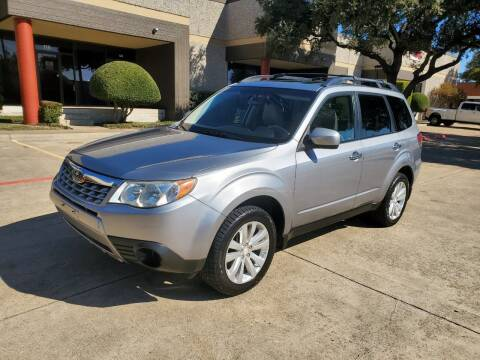 2011 Subaru Forester for sale at DFW Autohaus in Dallas TX