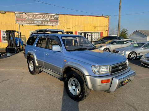 1996 Toyota 4Runner for sale at Virginia Auto Mall in Woodford VA