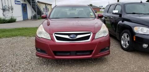 2010 Subaru Legacy for sale at Sissonville Used Cars in Charleston WV