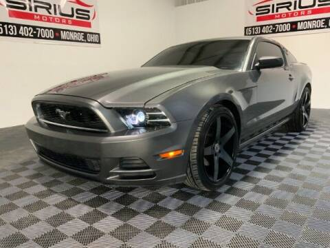 2013 Ford Mustang for sale at SIRIUS MOTORS INC in Monroe OH