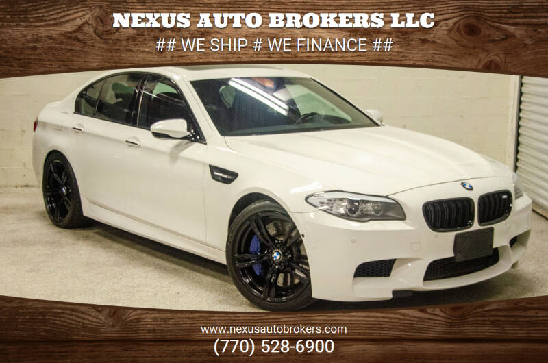 2013 BMW M5 for sale at Nexus Auto Brokers LLC in Marietta GA