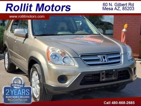 2006 Honda CR-V for sale at Rollit Motors in Mesa AZ