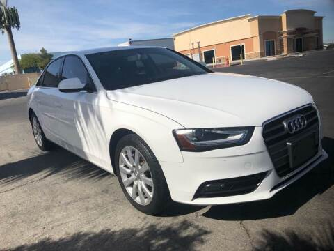 2013 Audi A4 for sale at LUXE Autos in Las Vegas NV