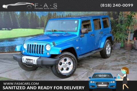 2015 Jeep Wrangler Unlimited for sale at Best Car Buy in Glendale CA