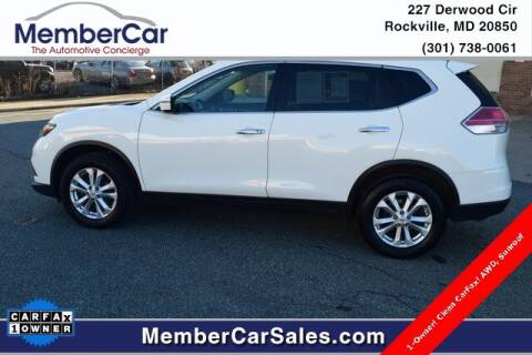 2016 Nissan Rogue for sale at MemberCar in Rockville MD