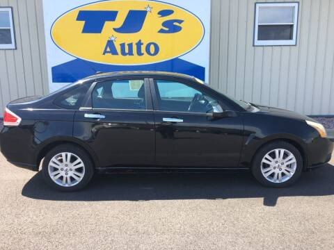 2011 Ford Focus for sale at TJ's Auto in Wisconsin Rapids WI