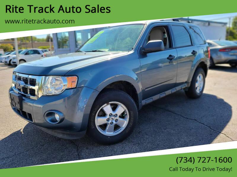 2011 Ford Escape for sale at Rite Track Auto Sales in Wayne MI