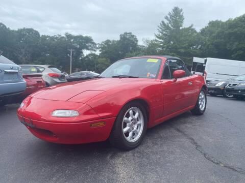 1990 Mazda MX-5 Miata for sale at SOUTH SHORE AUTO GALLERY, INC. in Abington MA