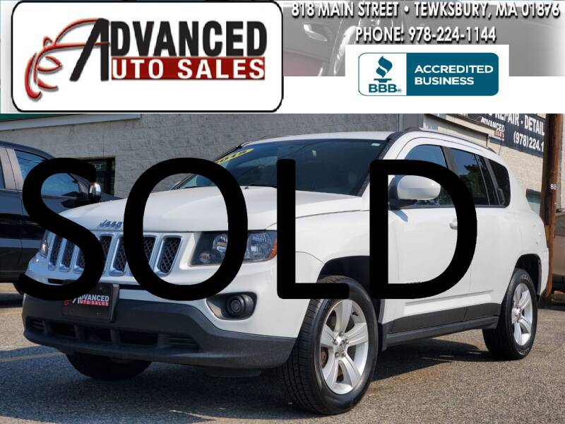 2015 Jeep Compass for sale at Advanced Auto Sales in Dracut MA