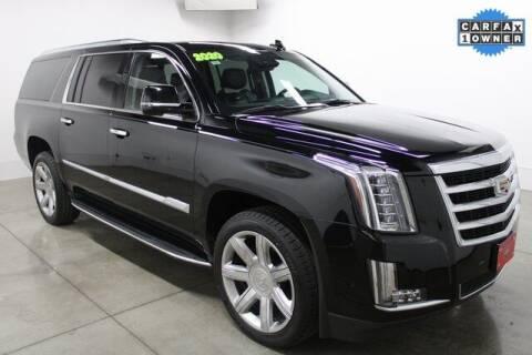 2020 Cadillac Escalade ESV for sale at Bob Clapper Automotive, Inc in Janesville WI