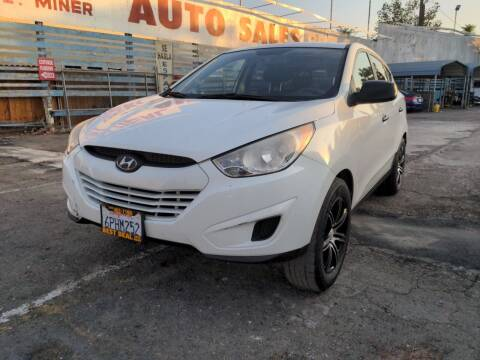 2010 Hyundai Tucson for sale at Best Deal Auto Sales in Stockton CA