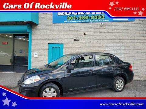 2009 Nissan Versa for sale at Cars Of Rockville in Rockville MD
