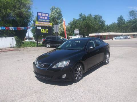 2008 Lexus IS 250 for sale at Right Choice Auto in Boise ID