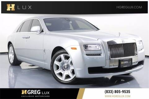 2014 Rolls-Royce Ghost for sale at HGREG LUX EXCLUSIVE MOTORCARS in Pompano Beach FL