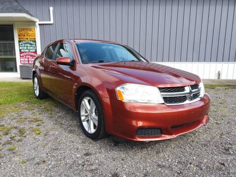 2012 Dodge Avenger for sale at RS Motors in Falconer NY