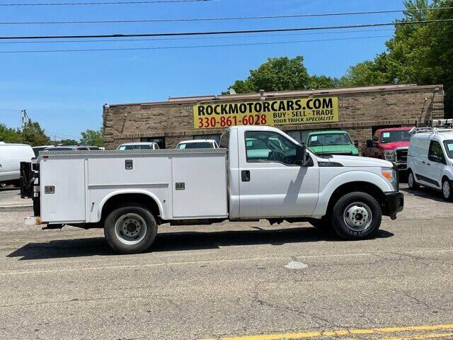 2012 Ford F-350 Super Duty for sale at ROCK MOTORCARS LLC in Boston Heights OH