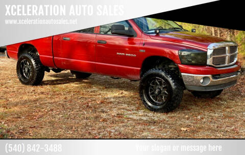 2006 Dodge Ram Pickup 2500 for sale at XCELERATION AUTO SALES in Chester VA