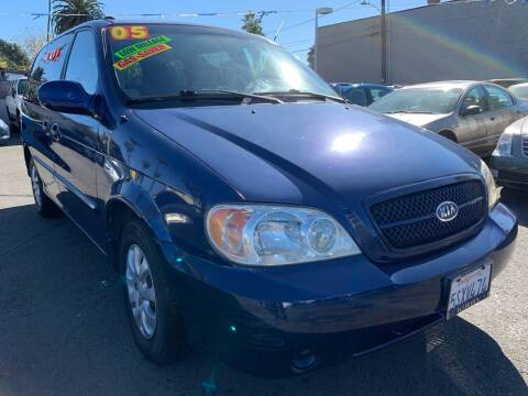 2005 Kia Sedona for sale at North County Auto in Oceanside CA