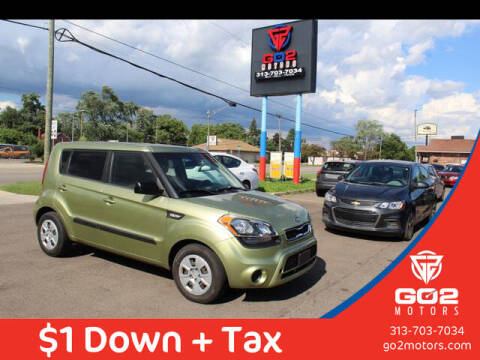2012 Kia Soul for sale at Go2Motors in Redford MI