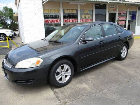 2012 Chevrolet Impala for sale at Metroplex Motors Inc. in Houston TX