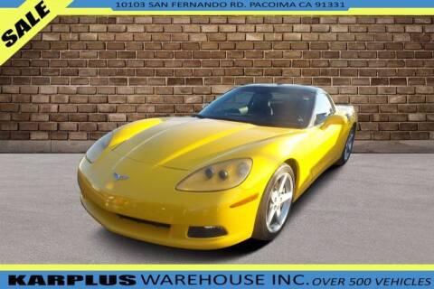 2005 Chevrolet Corvette for sale at Karplus Warehouse in Pacoima CA
