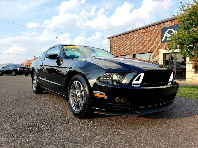 2014 Ford Mustang for sale at AUTO BARGAIN, INC. #2 in Oklahoma City OK