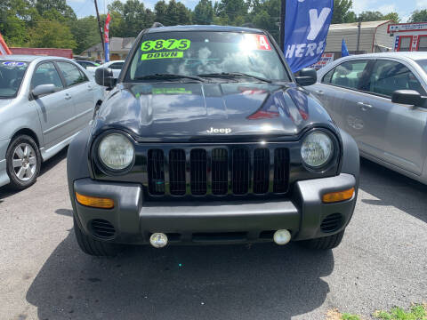 2004 Jeep Liberty for sale at Cars for Less in Phenix City AL