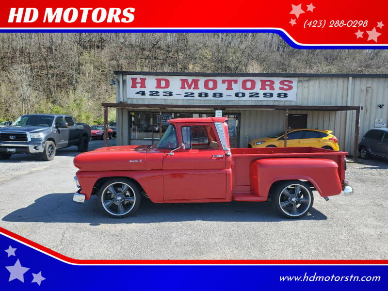 1961 Chevrolet Apache for sale at HD MOTORS in Kingsport TN