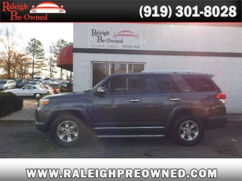 2012 Toyota 4Runner for sale at Raleigh Pre-Owned in Raleigh NC