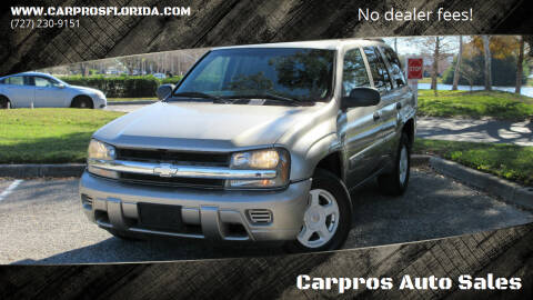 2002 Chevrolet TrailBlazer for sale at Carpros Auto Sales in Largo FL